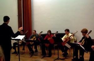 Coaching Guitar Ensemble at UofL - Louisville, KY